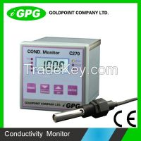 CE Confirmed C270 Industrial Online Conductivity Meter, Water Resistivity controller,TDS analyzer