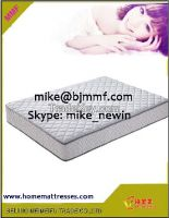 Promotion durable tricot fabric cover pocket spring mattress prices