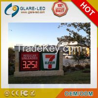 hot sale!!!!! 8inch led gas price sign