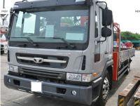 Used GM Daewoo Novus 5Ton Cargo Crane Truck