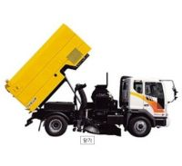 CNG Road Sweeper Truck