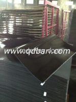 black shining rubber soling sheet