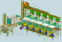 Peeling machines, confectionary systems, vegetable processing systems