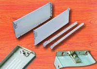 Metal box for slide