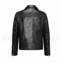 Men Leather Biker Fashion Jacket