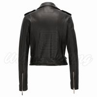 Women Biker Leather Jacket