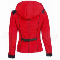 Angelina Red Textile Jacket