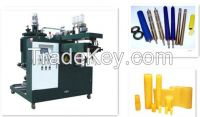 polyurethane sealing strip dumbbell roller tire wheel casting machine