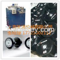 polyurethane sealing strip dumbbell roller tire wheel casting machine