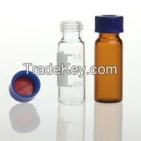 2ml amber glass hplc vial for Agilent autosampler