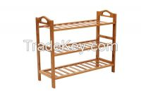 bamboo shoes rack with 3 tiers