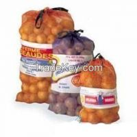 Raschel mesh bag for potato