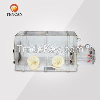 High quality and nice design acrylic vacuum glove box
