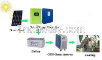 50a-60a CE Approval MPPT 12v 24v 48v solar charge controller