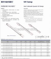 UV Air Sterilization Hot Cathode Quartz Lamp