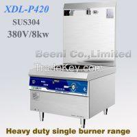 380V 8000W Restaurant heavy duty single-burner induction stock pot soup cooker