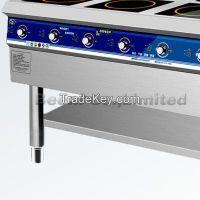 220v 3500w x6 restaurant and hotel kichen using commericail 6-burner induction cooker, 6-burner range