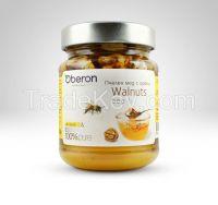 Bee Honey with walnuts