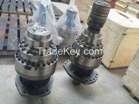 Hydraulic walking motor, planetary reducer and hydraulic winch, hydrau