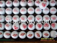 High quality 2 pieces driving range golf ball