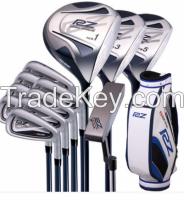 High performance golf club sets