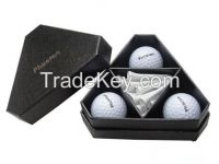 Hot selling golf gift set golf ball with tee