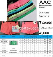 Candy Colored Women Shorts FP-422