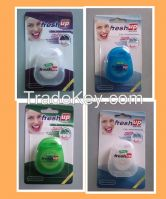 Various shapes, colors and sizes dental floss