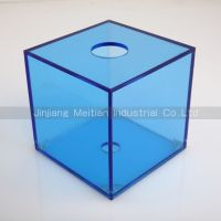 High quality Acrylic Cube Tissue Box