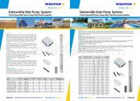 Solar Submersible Pump