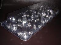 High quality Cheap Clear Plastic PET 10 cavities Egg Carton