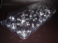 High quality Cheap Clear Plastic PET 10 cavities Egg Tray