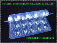 High quality Cheap 10 counts Clear Plastic PET Egg Tray