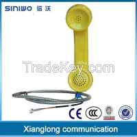 Coco phone retro handset, coco pop phone industrial handset