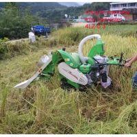 wheat and rice mini combine harvester