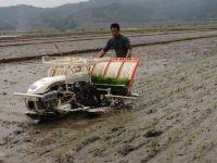 walking type hand operated seedling rice transplanter 2ZF-4b
