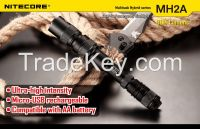 Nitecore MH2A Flashlight CREE XM-L U2 LED 3 Mode Flashlight 600 lumen Mini LED Torch Nitecore Flashlight