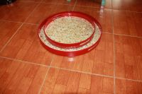 lacquer tray handmade in Vietnam mother of pearl inlaid