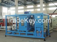 63PPR PE-pipe production line equipment deploy