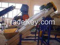 film crushing  cleaning and drying production line