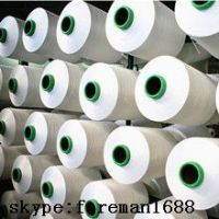 100% spun polyester yarn for knitting and weaving
