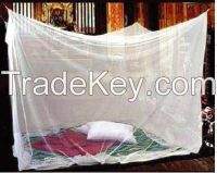 100%polyester long lasting insect treated rectangle mosquito net