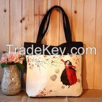 Canvas Digital Printing  Handbags
