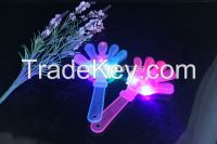 party noise maker LED Flash Plastic hand clapper 24cm