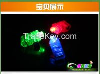 Flashing Finger Light  With Stretchy Band