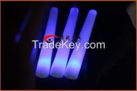 electronic flash stick foam sponge stick light sticks concert bar supplies