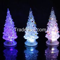 2014 Christmas Day Christmas tree night lamp