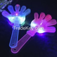 24cm led flashing hand clapper party noise-maker