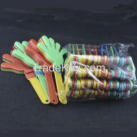 24cm led flashing hand clapper party noise-maker