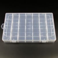 Plastic Jewellery Bracelet Necklace Ring Earring Display Jewelry Collection Compartment Storage Box Case
